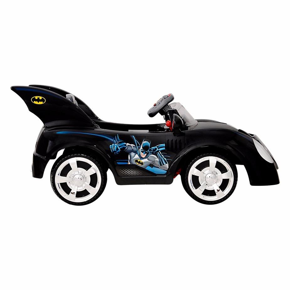 Carro Batman Batimovil Juguete Electricos Para Montar Nino