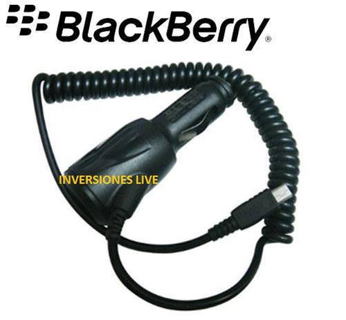 carro blackberry cargador
