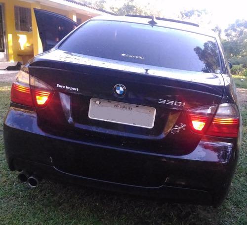 carro bmw serie 3 330 i motorsport aspirado 258cv teto xenon