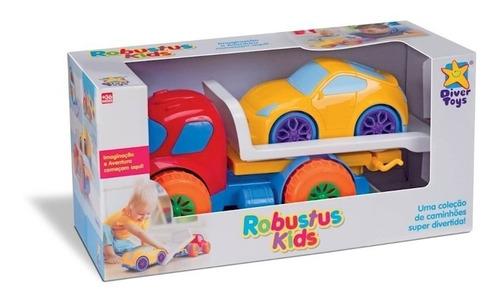 carro brinquedo robustus kids guincho