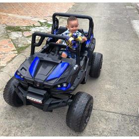 Carro Bugui Recargable Niños 1 A 8 Años Grandes Llanta Goma