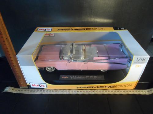 carro cadillac 50 rosado el dorado biarritz (1959)