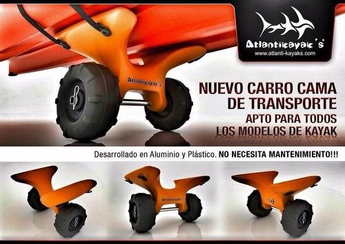 carro cama atlantikayak todos los modelos kayak carrito