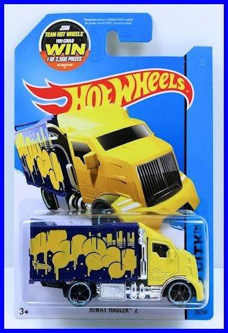 carro camion hot wheels hiway hauler  100 % original