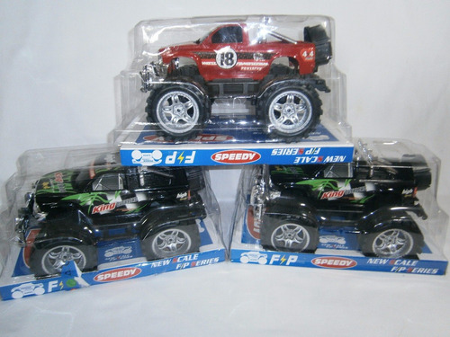 carro camioneta jeep grande rustico a friccion nueva juguete