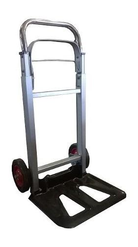 Carro carga manual yegua de aluminio plegable - Carro plegable aluminio ...