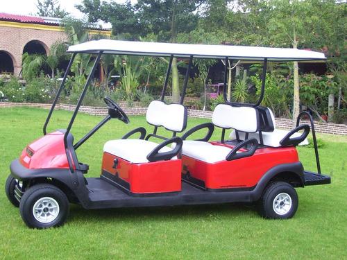 carro / carrito electrico multiusos 6 pax. modelo precedent