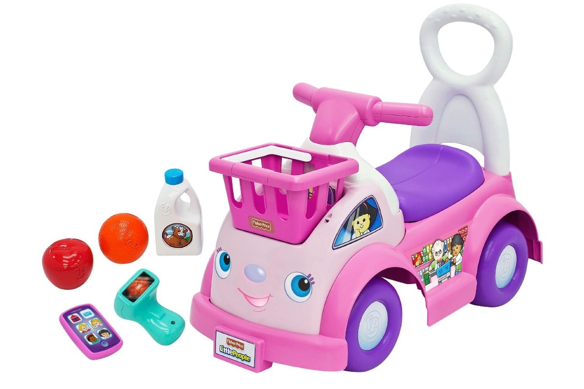 Carro Carrito Fisher Price Montable Juguete Nina Mercado
