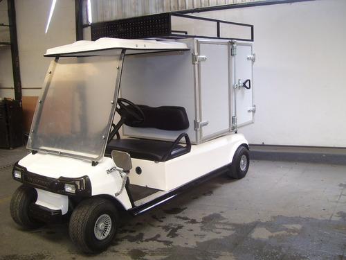 carro / carrito industrial con caja seca
