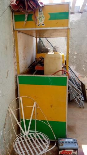 carro carrito para desgranado jugo churros comida