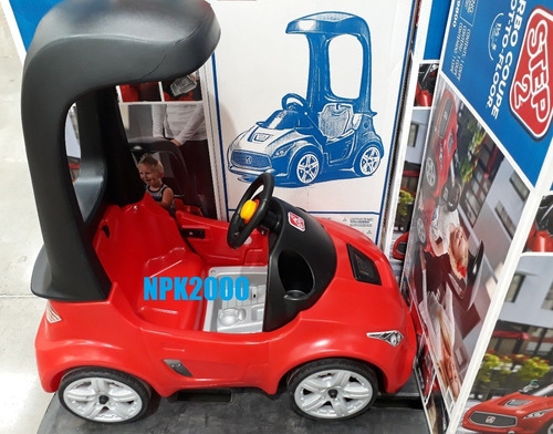 carro carrito step2 montable de empuje rojo niños