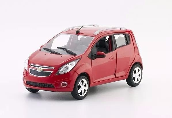 Carro Chevrolet Spark Gt Escala 1 24 Coleccion Norscot 169 990