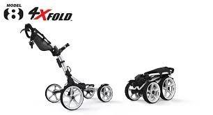 carro clic gear 8.0 y con 4 ruedas. lo mejor en golf.