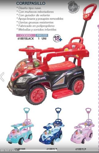 carro, coche correpasillo 3 en 1,bebes,niñ@s,barra guiadora