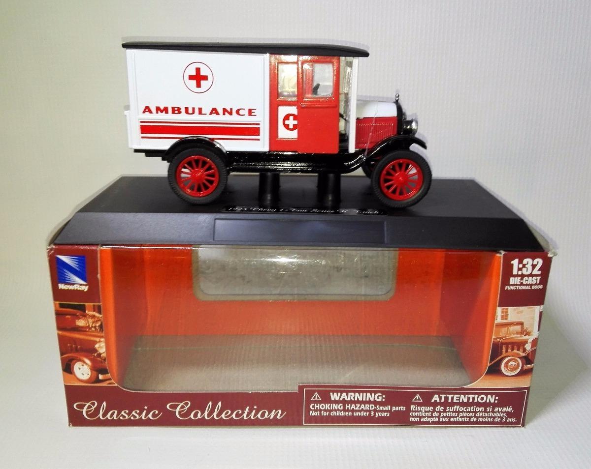 Ambulancia Chevy 32 1 924 1 1 Carro Escala Colección eQCoErxdBW