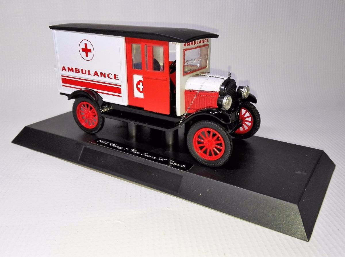 Chevy 32 Colección Ambulancia Escala 1 924 1 1 Carro 0OmNwvn8