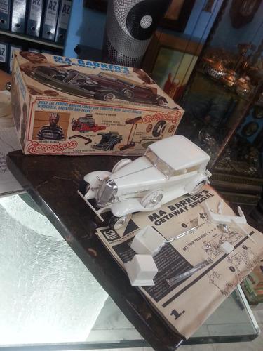 carro colección antiguo en baquelita con caja 1955 barkers