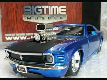 carro coleccion jada  ford mustang boss escala 1/24