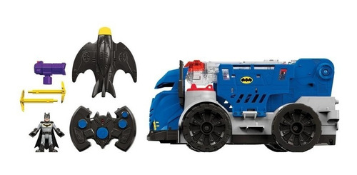 carro comando movil batman imaginext c. remoto luces sonidos