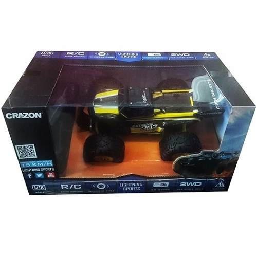 carro control escala 1/18 auto juguete lightning 171802b