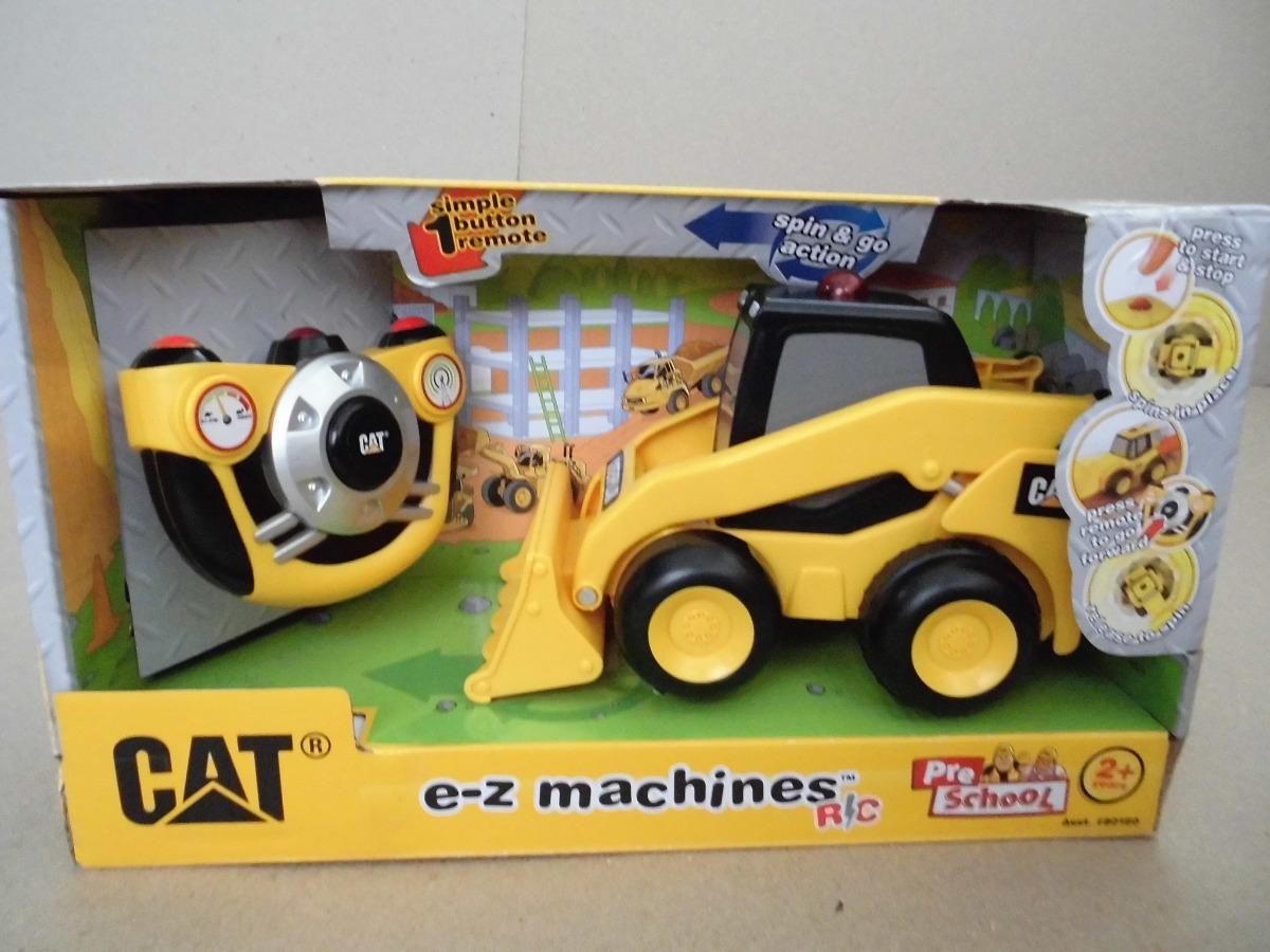 Carro Control Remoto Bulldozer Cat Caterpillar Juguete Ninos Bs 6