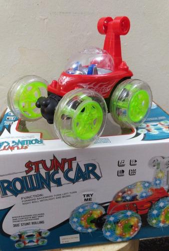 carro control remoto con luces y musica es recargable 15vd