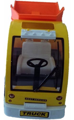 carro control remoto constructor volqueta recargable