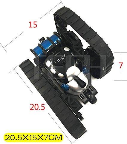 carro control remoto rc niño 7tech rc tanque de batalla, con