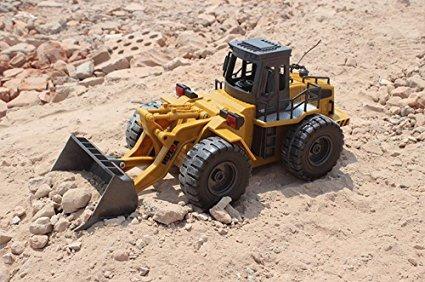 carro control remoto rc niño fistone rc truck alloy shovel l