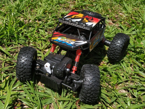 carro control remoto r/c recargable rock crawler trepa rocas