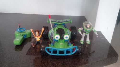 carro control remoto toy story original