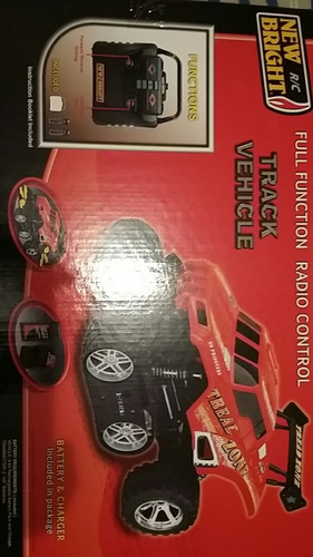 carro control remoto trance vehículo new bright
