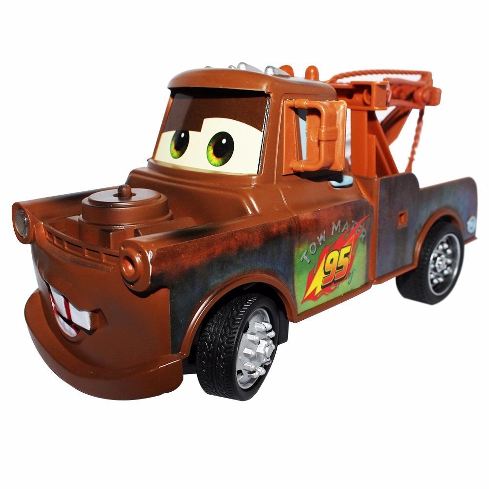 Carro Controle Remoto Disney Tom Mate Desenho Carros 2