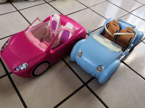 carro convertible playero barbie