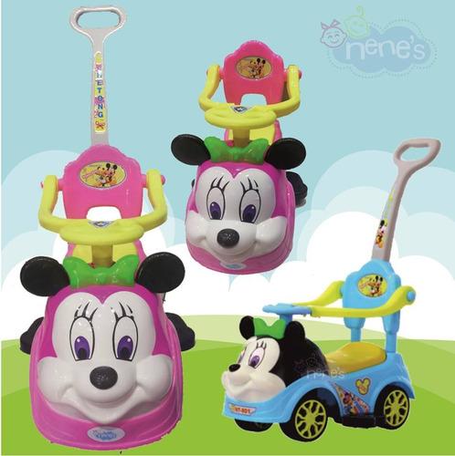 carro correpasillo guiador  /musical/luces minie nuevos niñ@