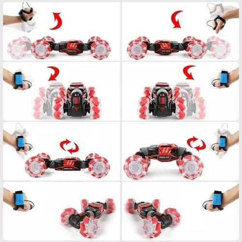 carro de acrobacias con control por gestos de movimiento