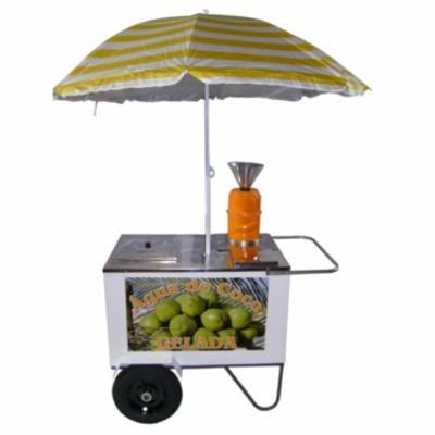 carro de água de coco compacto - alsa