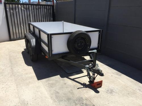 carro de arrastre doble eje nuevo
