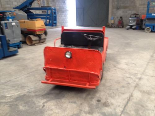 carro de arrastre electrico
