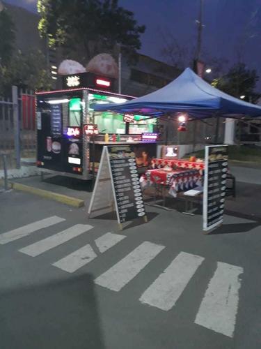 carro de arrastre food track