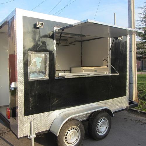 carro de arrastre foodtrack impecable