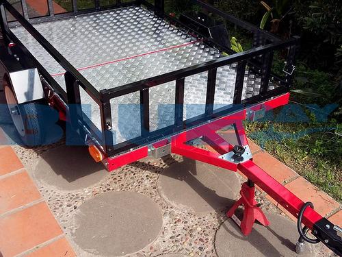 carro de arrastre multifuncional plegable