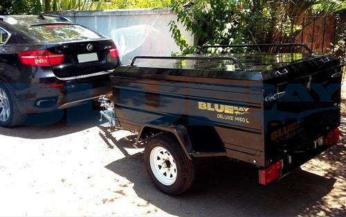 carro de arrastre porta equipaje grande - carros equipaje