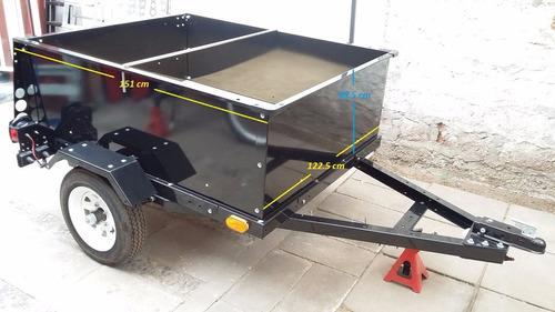 carro de arrastre utilitario mediano