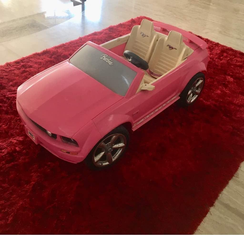 4f55c4ab8 Carro De Bateria Mustang Para Niñas - Bs. 16.000,00 en Mercado Libre