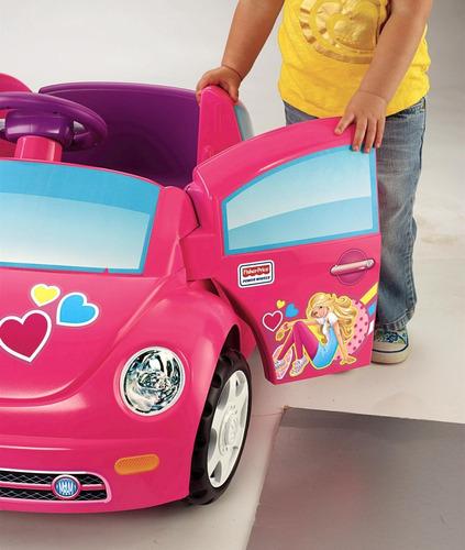 carro de bateria para niñas volkwagen barbie