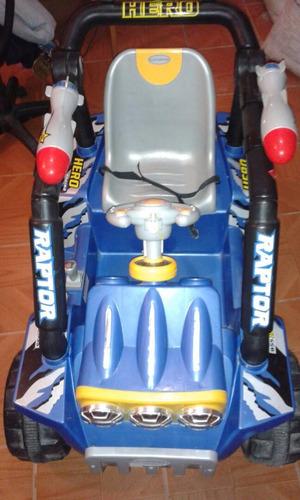 carro de batería raptor
