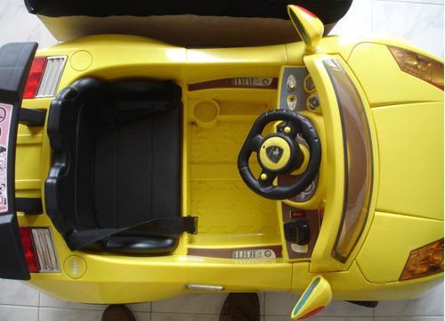 carro de bateria recargable con control remoto