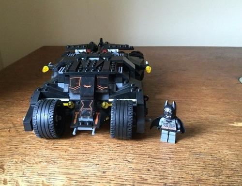 carro de batman tipo lego 325 piezas armabale con batman was