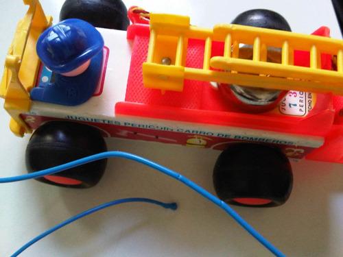 carro de bomberos periquin juguetes periquin usado